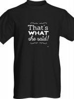 Tshirt-thats-what-she-said